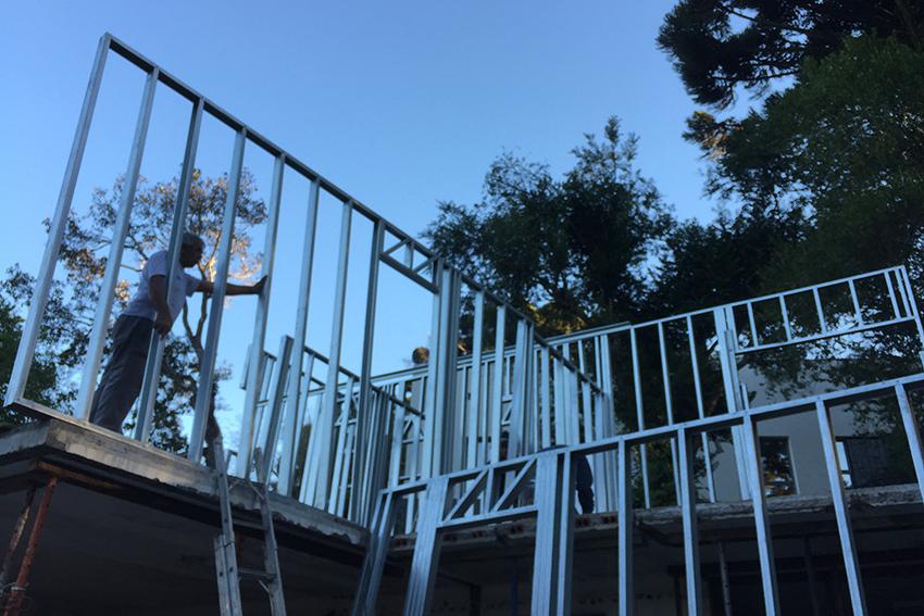 residência em steel frame
